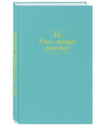 My 5 minute journal. Дневник, меняющий жизнь (твёрдая обложка, кремовая бумага, ляссе, мятная)