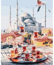 Картина по номерам Чаепитие в Стамбуле 40 х 50 см (BK-GX34798)