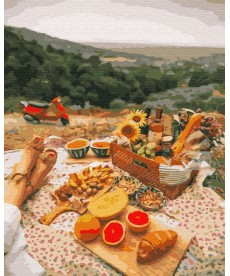 Картина по номерам Пикник в Провансе 40 х 50 см (BK-GX34823)
