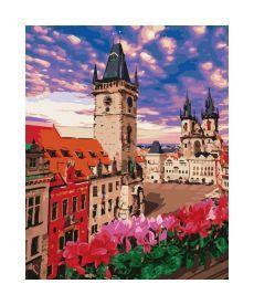 Картина по номерамНевероятная Прага  40*50 см (KHO3574)