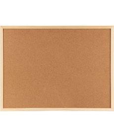 Доска пробковая 90х120см Axent деревянная рамка 9603-A