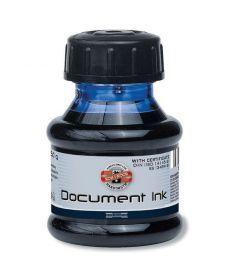 Чернила для авторучек Koh-i-noor для документов 50 мл черные (141601)