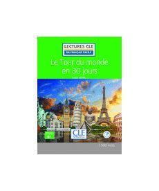 LCFB1/1500 mots Le Toure du monde en 80 jours Livre+CD
