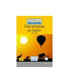 LCFA1/600 mots Cing Semaines en ballon Livre+CD