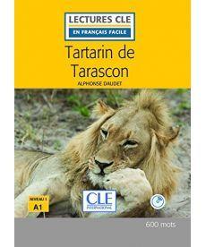 LCFA1/600 mots Tartarin de Tarascon Livre+CD