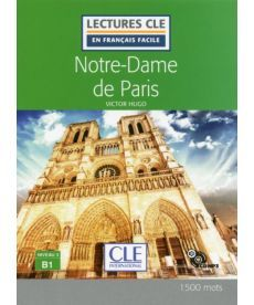 LCFB1/1500 mots Notre-Dame de Paris Livre + CD