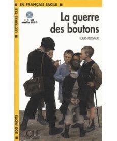 LCF1 La Guerre des boutons Livre+CD