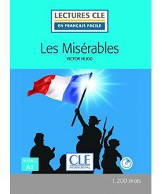 LCFA2/1200 mots Les Miserables Livre+CD