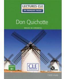 LCFB1/1500 mots Don Quichotte Livre + CD