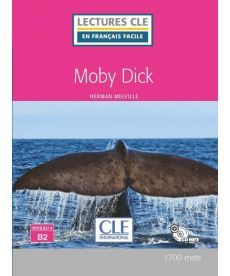 LCFB2/1700 mots Moby Dick Livre + CD