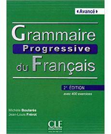 Grammaire Progressive du Francais 2e Edition Avance Livre + CD audio