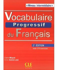 Vocabulaire Progr du Franc 2e Edition Interm Livre + CD audio