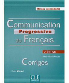 Communication Progr du Franc 2e Edition Interm Corriges