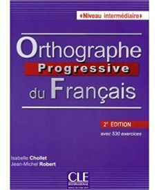 Orthographe Progr du Franc 2e Edition Interm Livre + CD