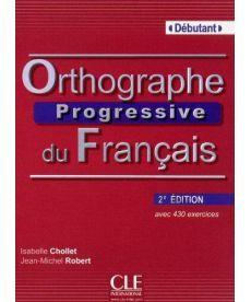 Orthographe Progr du Franc 2e Edition Debut Livre + CD