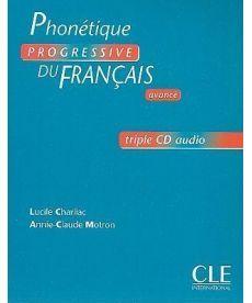 Phonetique Progr du Franc Avan Coffret CD audio