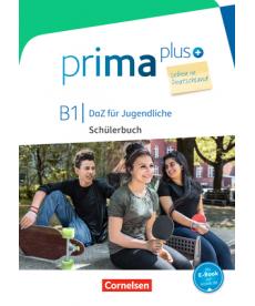 Prima plus B1 Leben in Deutschland Sch?lerbuch mit MP3-Download