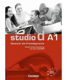 Studio d  A1 Unterrichtsvorbereitung (Print) mit Demo-CD-ROM