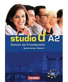Studio d  A2/1 Sprachtraining mit eingelegten Losungen
