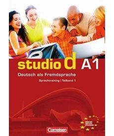 Studio d  A1/1 Sprachtraining mit eingelegten Losungen