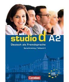 Studio d  A2/2 Sprachtraining mit eingelegten Losungen