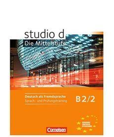 Studio d  B2/2 Sprach- und Prufungstraining Arbeitsheft