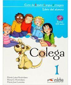Colega 1 Libro del alumno + CD Pack GRATUITA