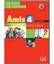Amis et compagnie 4 CD audio pour la classe