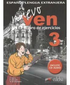 Nuevo Ven 3 Libro del ejercicios + CD audio