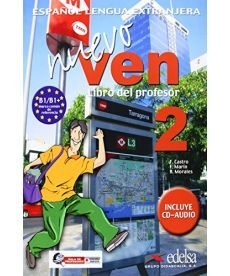 Nuevo Ven 2 Libro del profesor + CD audio