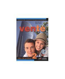 Vente 2 (B1) Libro del profesor + CD audio