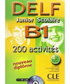 DELF Junior scolaire B1 Livre + corriges + transcriptios + CD