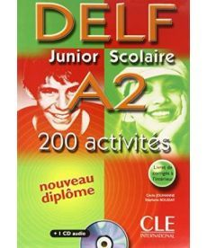 DELF Junior scolaire A2 Livre + corriges + transcriptios + CD