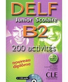 DELF Junior scolaire B2 Livre + corriges + transcriptios + CD