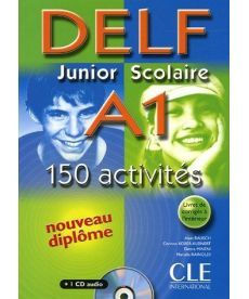 DELF Junior scolaire A1 Livre + corriges + transcriptios + CD