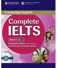 Complete IELTS Bands 5-6.5 Student's Pack (SB with Answers with CD-ROM and Class Audio CDs (2))