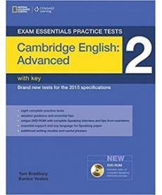 Exam Essentials: Cambridge Advanced Practice Tests 2 with Answer Key & DVD-ROM