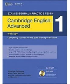 Exam Essentials: Cambridge Advanced Practice Tests 1 with Answer Key & DVD-ROM