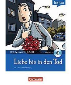 DaF-Krimis: A2/B1 Liebe bis in den Tod mit Audio CD