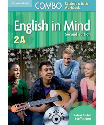 English in Mind Combo 2nd Edition 2A SB+WB with DVD-ROM