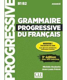 Grammaire Progressive du Francais 3e Edition Avance Livre + CD + Livre-web 100% interactif