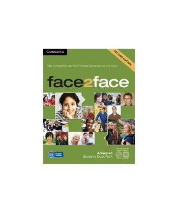 Face2face 2nd Edition Advanced Student's Book with DVD-ROM and Online Workbook Pack