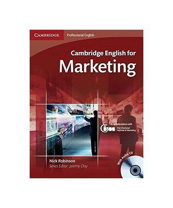 Cambridge English for Marketing SB with Audio CDs (2)
