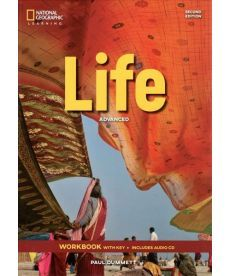 Life 2nd Edition Advanced WB with Key and Audio CD