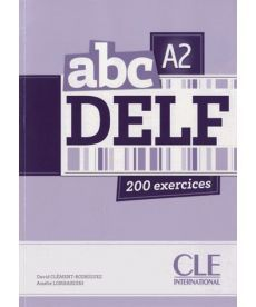 ABC DELF A2, Livre + Mp3 CD + corrig?s et transcriptions