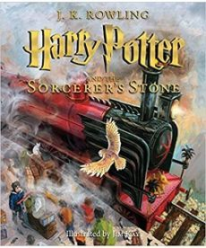Harry Potter 1 Philosopher's Stone Illustrated Edition [Paperback]