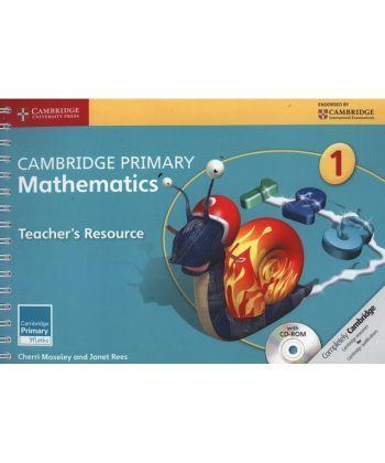 Cambridge Primary Mathematics 1 Teacher's Resource Book with CD-ROM