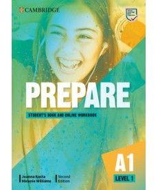 Cambridge English Prepare! 2nd Edition Level 1 SB with Online WB including Companion for Ukraine