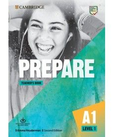 Cambridge English Prepare! 2nd Edition Level 1 TB with Downloadable Resource Pack
