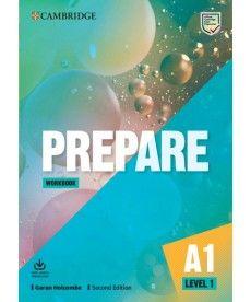Cambridge English Prepare! 2nd Edition Level 1 WB with Downloadable Audio